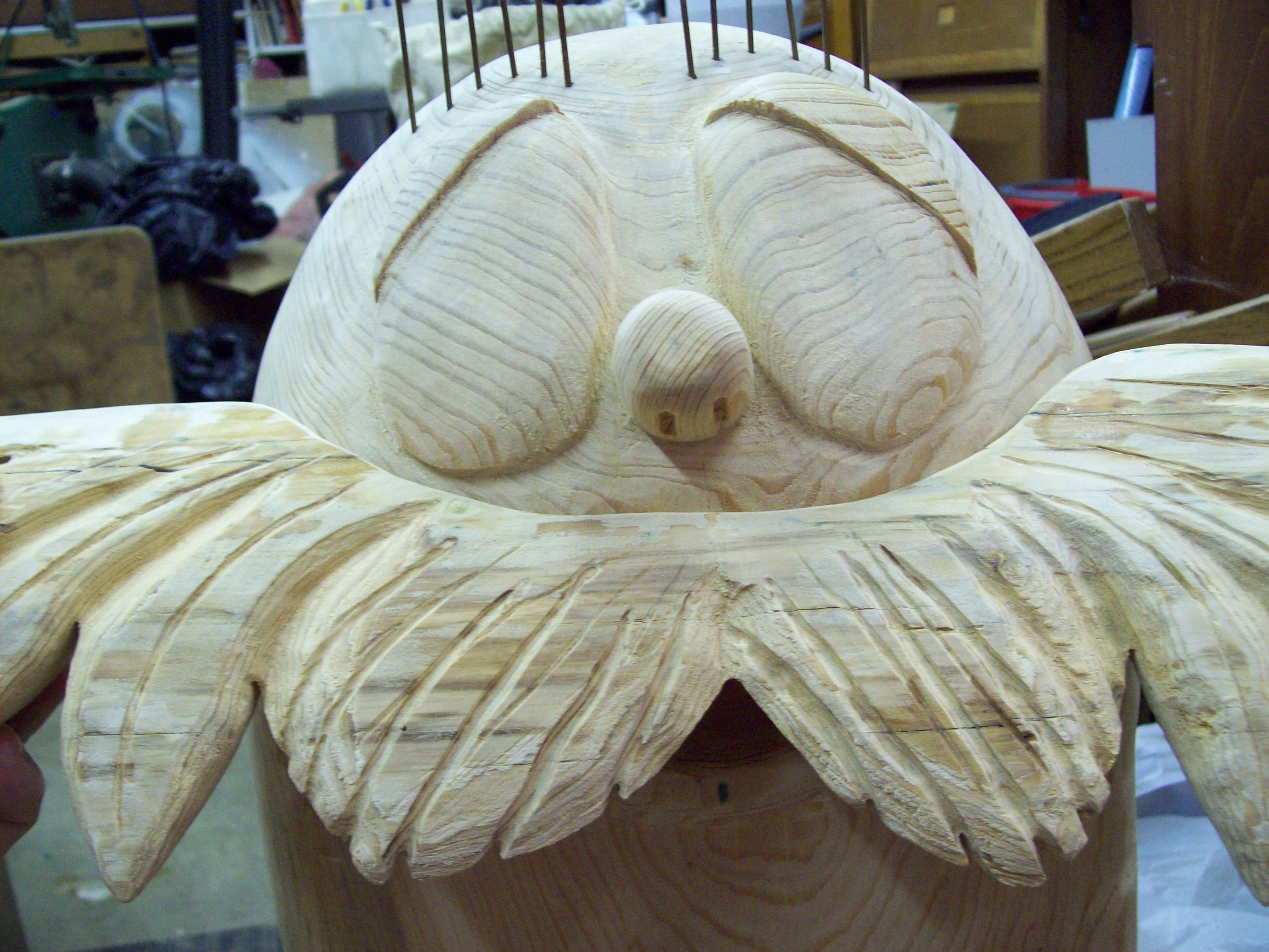 Lorax Carving 9
