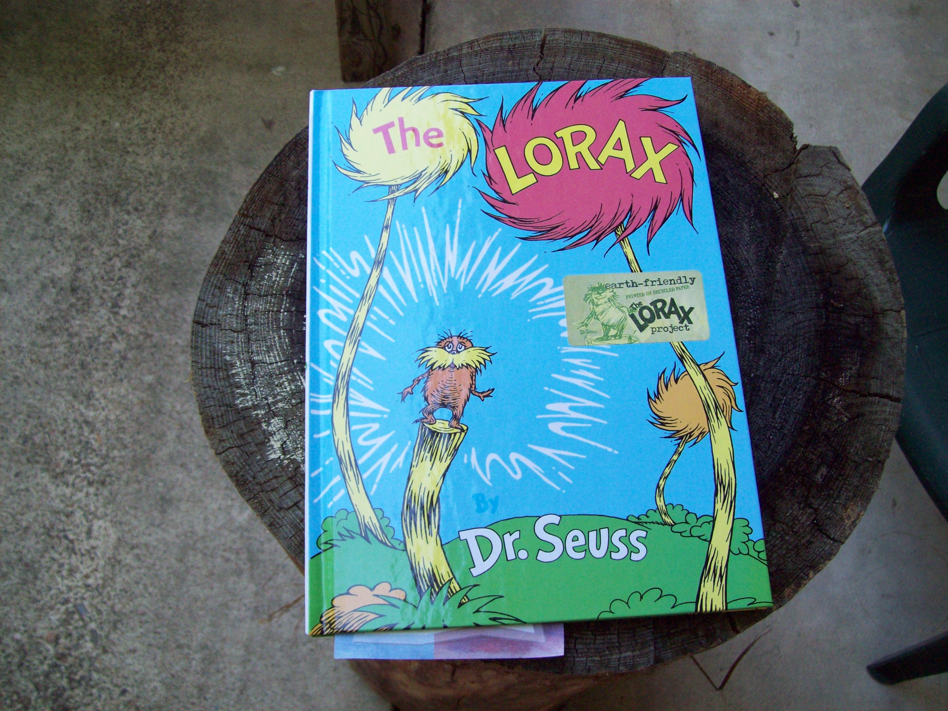 The Lorax, by Dr. Seuss